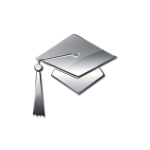 062715-glossy-silver-icon-people-things-hat-graduation