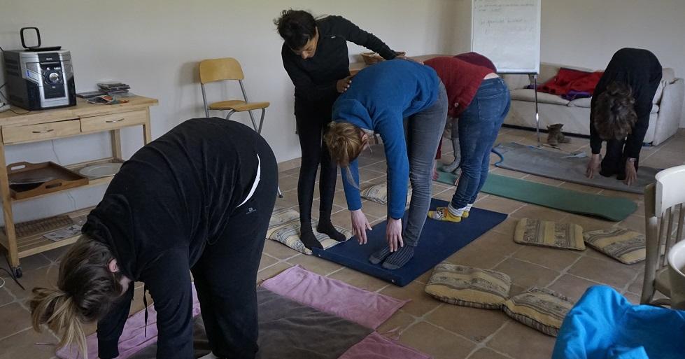 Interview de Corinne Angot, praticienne Bien être et professeur de Yoga pour l'ABC du Cheval.