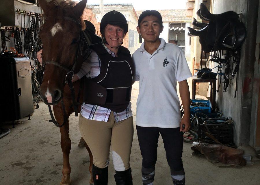 On a testé : Prendre un cours d'Equitation dans un club en Chine !