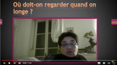 Question : Où regarder quand on longe ?