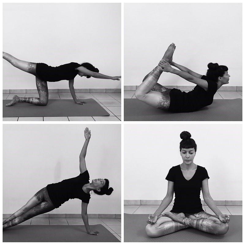 Quelques postures de Yoga, utiles pour les cavaliers et cavalières