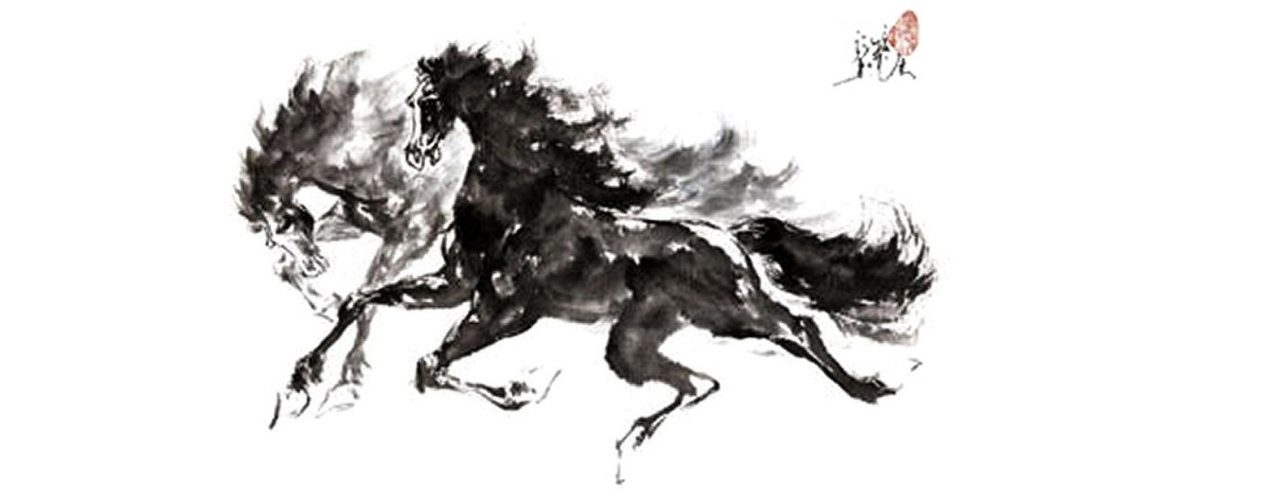 chevaux en fuite